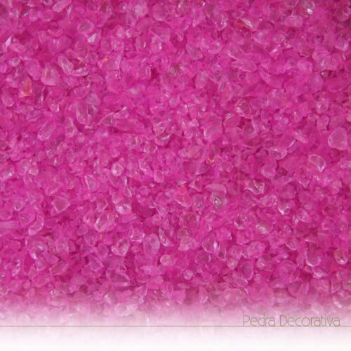 vidro decorativo rosa brilhante