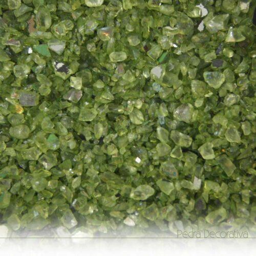 vidro decorativo verde