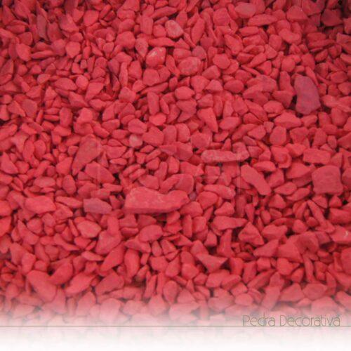pedra vermelho mate
