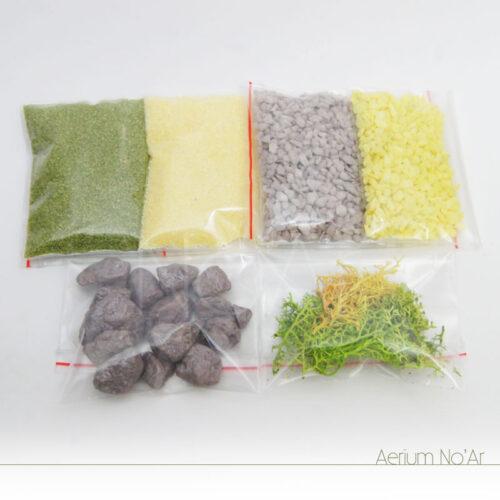 Aerium Gota Amarelo e Verde - Pequeno