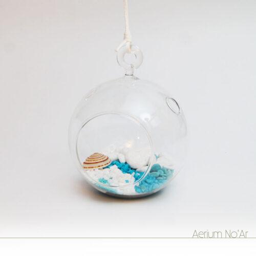 Aerium No'Ar - Azul Pequeno - Sem planta